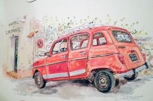 Renault, La Darse, Geraldine Sadlier 2011