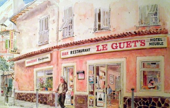 Le Guets, Nice, Geraldine Sadlier