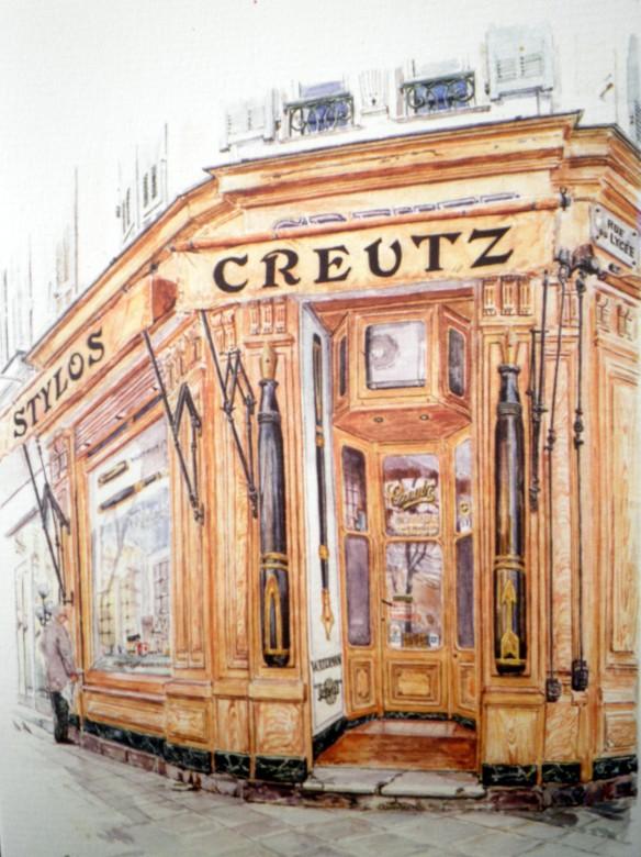 creutz watercolour card geraldine sadlier