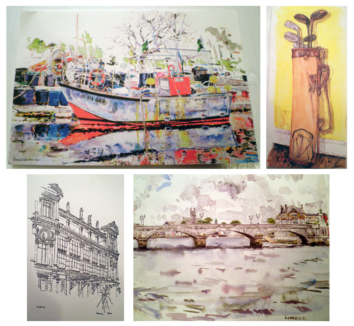 geraldine sadlier postcards