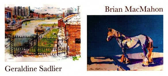 Geraldine Sadlier_Brian McMahon Exhibition_Shannon Rowing Club_Limerick_Nov2013