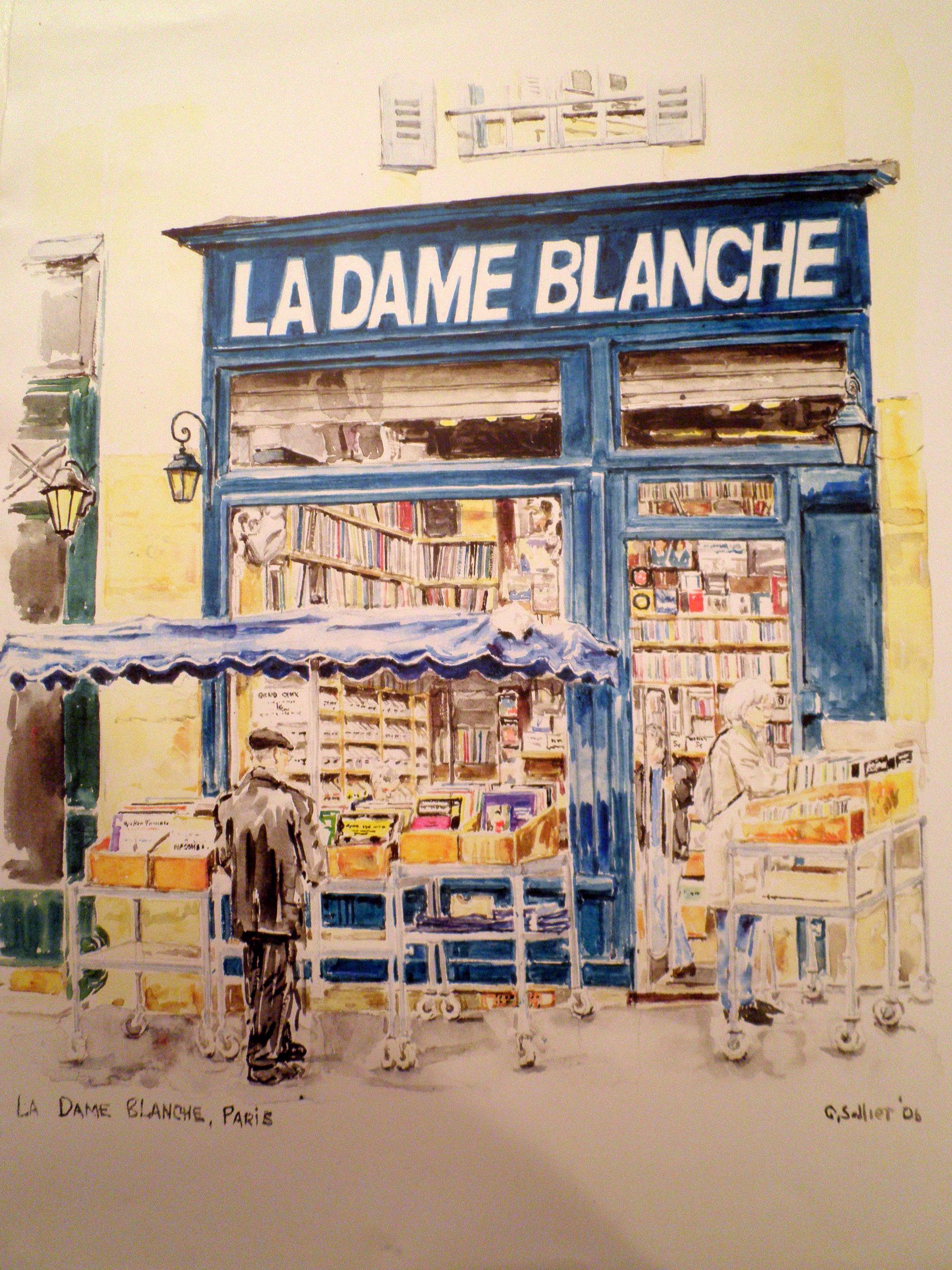 La Dame Blanche, Paris, Geraldine Sadlier
