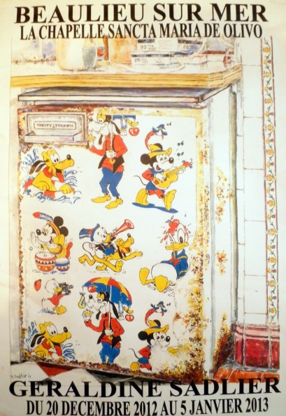geraldine sadlier disney fridge