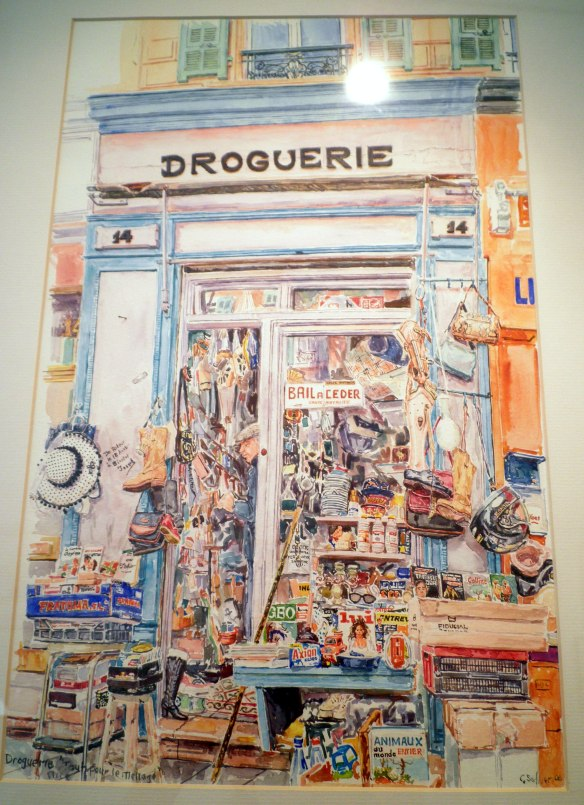 droguerie nice watercolour painting geraldine sadlier