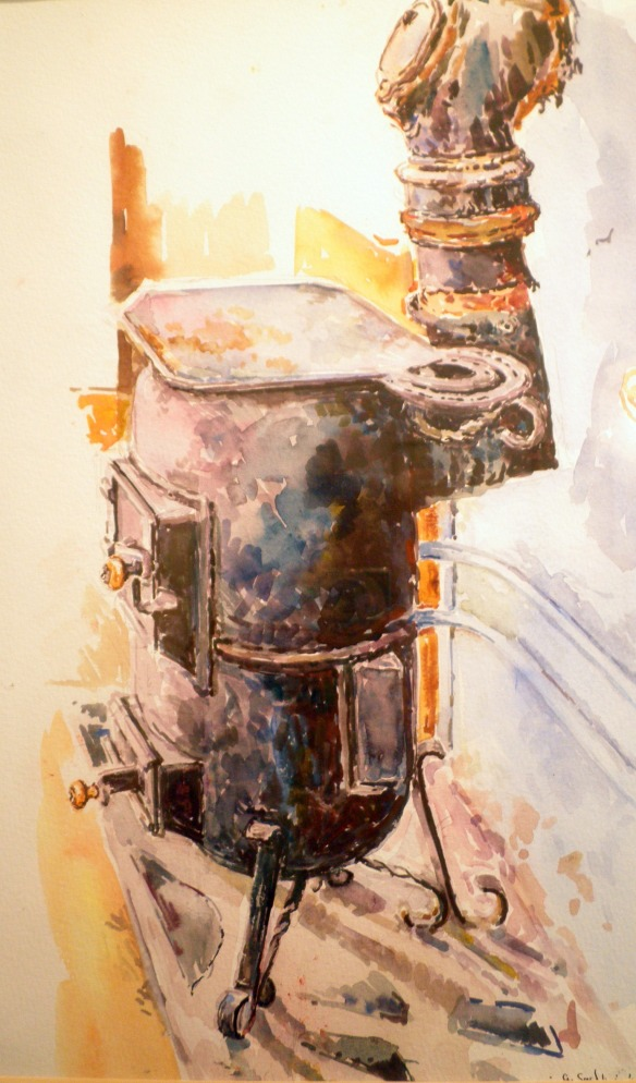 stove ireland watercolour ireland geraldine sadlier